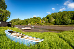 The River Lerryn in Cornwall Royalty Free Stock Images