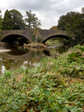 River Leven bridge Royalty Free Stock Photo