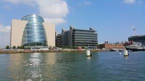 River Liffey in Dublin Royalty Free Stock Photos