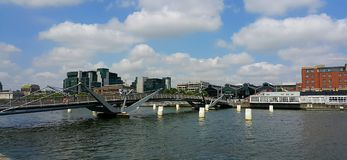 River Liffey in Dublin Royalty Free Stock Images