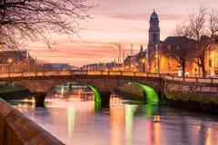 River Liffey Dublin Ireland stock photos
