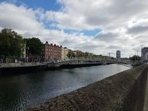 River Liffey royalty free stock photos