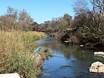 River. Limpopo south Africa landscapes Royalty Free Stock Images