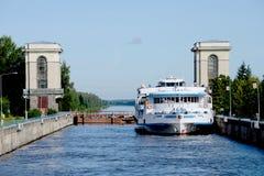 River lock Royalty Free Stock Image