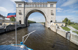 River lock Royalty Free Stock Images