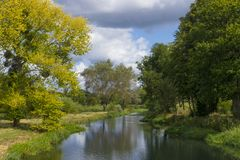 Free River Loddon,Hampshire, England Royalty Free Stock Image - 132738676