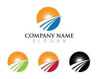 River Logo Template. Vector icon Stock Photos