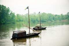 River Loire in France royalty free stock photo