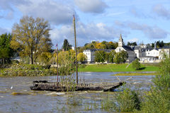 River Loire at Tours in France Stock Image