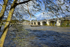 River Loire at Tours in France Stock Photography