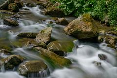 River. Long Exposure Stock Images