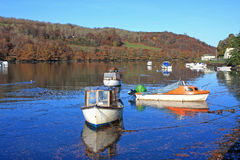 River Looe Royalty Free Stock Photos