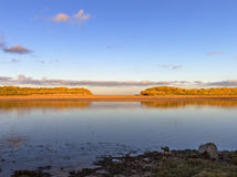 River Lossie high tide. Royalty Free Stock Images