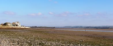 River Lune estuary, Lancashire at low tide Stock Photography