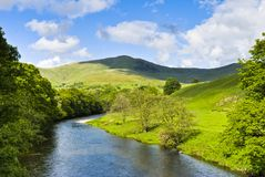 River Lune Scenic Stock Photos