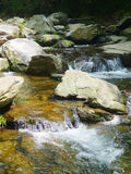 River in lushan mountains Royalty Free Stock Photo