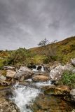 The River Lyd Dartmoor National Park. The Lyd is a river rising at Lyd Head Corn Ridge in NW Dartmoor in the Dartmoor national park in Devon in south-west royalty free stock images