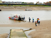 River Lynn ferry, Kings Lynn, Norfolk. Royalty Free Stock Photography