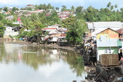 River in Manado Royalty Free Stock Images