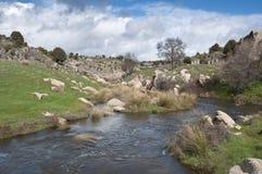 River Manzanares Stock Photo
