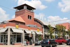 The River Market Building Little Rock Stock Photo