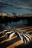 River Masquerade Stock Image