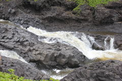 River. In maui hawaii, very good for any kind of manipulation Stock Photo
