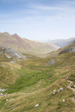 Aguas Tuertas Valley. Spanish Pyrenees Royalty Free Stock Photo