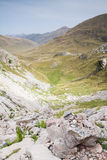 Aguas Tuertas Valley. Spanish Pyrenees Stock Photo