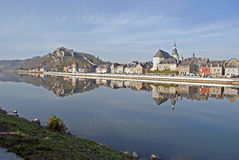River Meuse and Givet Stock Photos