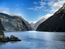 River Milford Sounds Royalty Free Stock Images