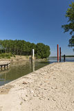 River mincio Royalty Free Stock Photo