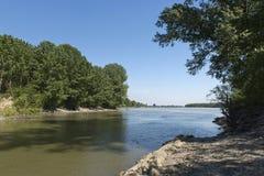 River mincio Stock Images