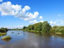 River Minija, Lithuania Royalty Free Stock Image