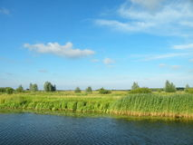 River Minija, Lithuania Royalty Free Stock Images