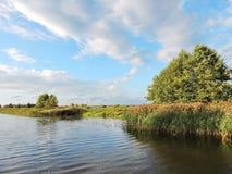 River Minija, Lithuania Royalty Free Stock Photos