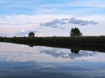 River Minija, Lithuania Royalty Free Stock Photo