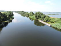 River Minija, Lithuania Royalty Free Stock Photo