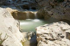 The river Mirna near the village Kotli in Croatia Stock Image