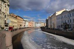 St. Petersburg, River Moika. River Moika in Saint Peterburg Stock Photography