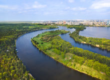River in Moscow, Russia Stock Photos