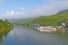 The River Mosel in Germany Stock Photography