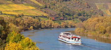 River Moselle in Germany Royalty Free Stock Photography
