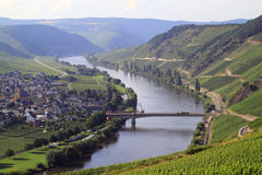 River Moselle in Germany Stock Photos
