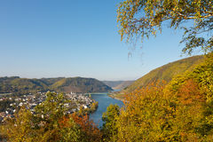 River Moselle (Mosel) Stock Image
