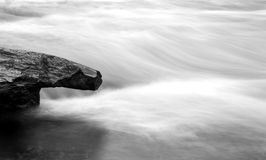 River in motion Royalty Free Stock Photography