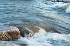 River in Motion Royalty Free Stock Images
