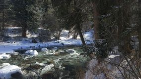 River in mount stock photography