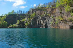 River mountain canyon nature Stock Photography