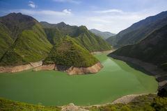 River in mountain china Stock Photography